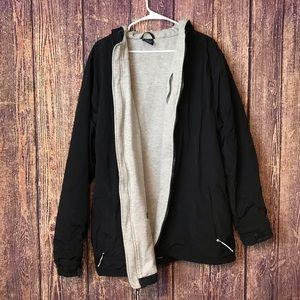 Charles Rivers 3XL Black Rain Coat Jacket